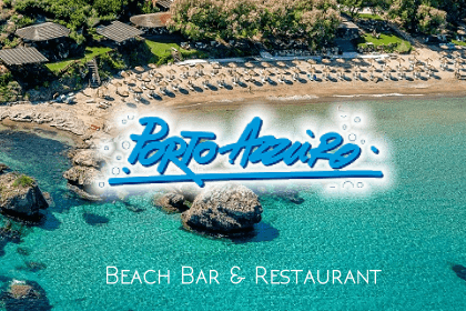 Restaurants in Zakynthos Porto Azzuro Beach Bar Restaurant