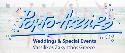 Wedding in Zakynthos  Porto Azzuro Weddings & Events